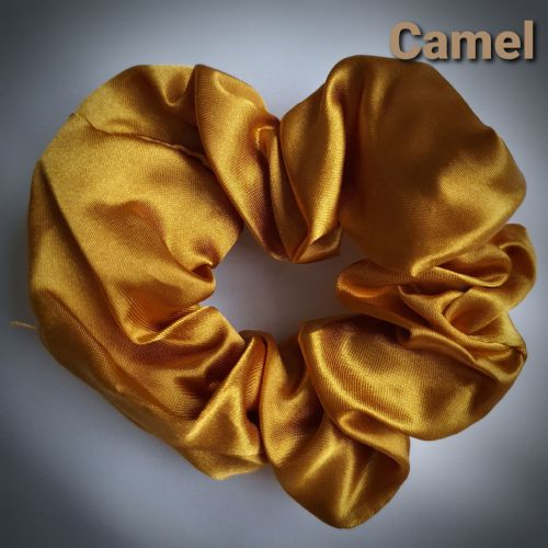 Carmel Satin Scrunchie